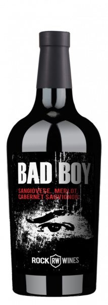 BAD BOY Reserva 2017 Toscana IGT - Sangiovese, Merlot & Cabernet Sauvignon - ROCK WINES
