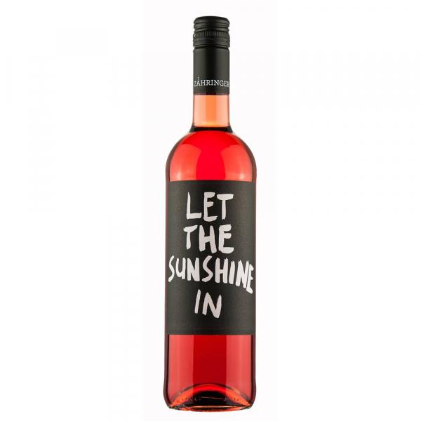 """""""Let the sunshine in"""" Rosé trocken 2019 QbA - Weingut Zähringer- Biowein"""