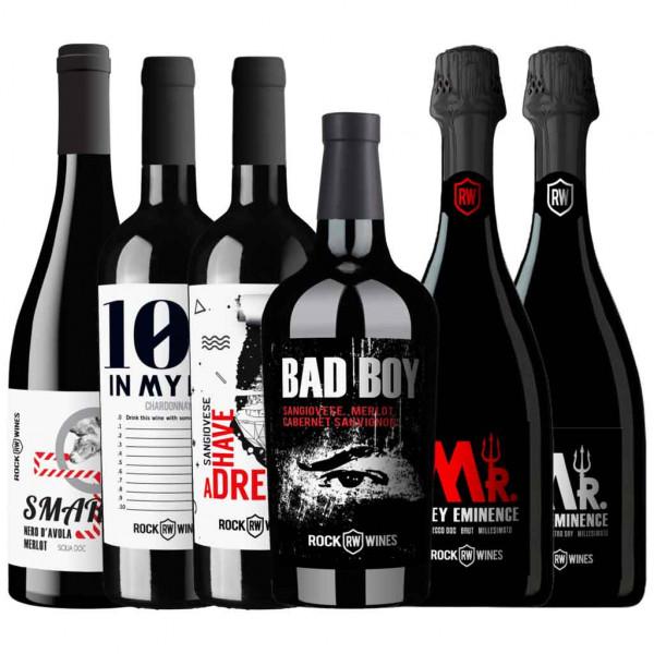 Full Rockin' Rock Wines Collection - Wein Probierpaket ROCK WINES