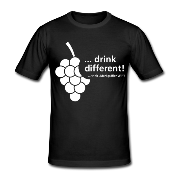 "DRINK DIFFERENT ""T-Shirt"" - Markgräfler Wine Merch"
