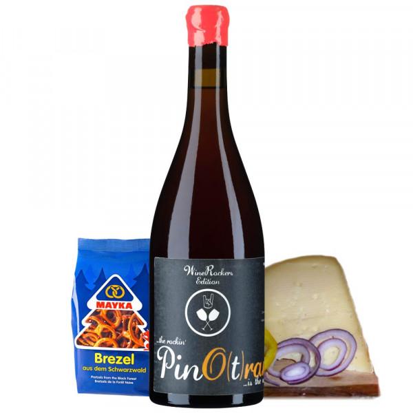 """Online Weinprobe """"Weintaufe Weinpaket"""" Pino(t)range zum 16.04.2021 – WineRockers Edition"""